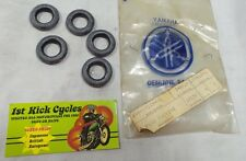 NOS YAMAHA FRONT FORK GASKET (PACK OF 5) YR1 YR2 R3 168-23114-01