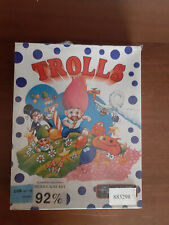Commodore 64 Trolls New Sealed Nuovo Sigillato