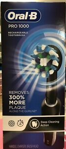Oral-B Pro 1000 Power Rechargeable Electric Toothbrush- Black