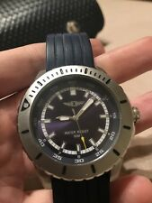 INVICTA I QUARTZ WATCH STAINLESS STEEL CASE WITH BLUE TONE SILICONE BAND