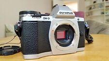 Olympus OM-D E-M5 16.1MP Digital Camera - Silver (Kit w/ ED EZ 12-50mm Lens)