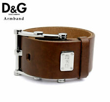 DOLCE&GABBANA D&G Herren Armband braun Lederarmband DJ0910 NEU