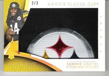 Sammie Coates 2015 Panini Immaculate Rookie Player Caps Logo Patch 2/3 RC Relic