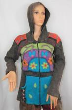 Fair Trade Festival Hoodie Jacket Unisex Hippie Ethnic Hippy Boho Hand Made XL