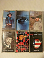 GARTH BROOKS Cassettes  Country Music  Lot of 6  Preowned 1990s