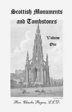 Scottish Monuments and Tombstones: Vol 1 (Like New)