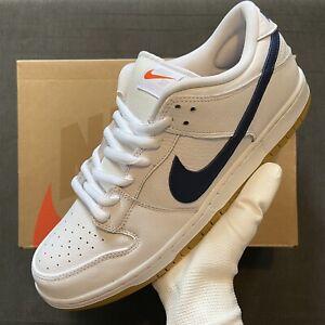 Nike SB Dunk Orange Label Low Pro - White / Navy / Gum - UK 11 / US 12