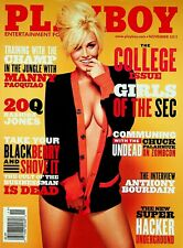 Playboy Magazine November 2011 The College Issue Girls of the SEC