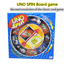New Uno Spin Card Travel Game Playing Card Family Fun ---Friend's Funny Forever