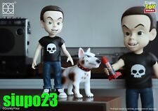 "Herocross ~ HVS #023 Disney Toy Story 12"" Sid & 6.5"" Scud Figure"
