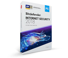 Bitdefender Internet Security 2018 - 1 PC, 1 Year (Key - Activation code)