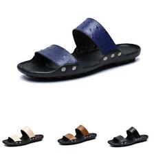38-47 Mens Flats Slingbacks Beach Slippers Shoes Open Toe Pool Walking Casual B