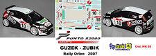 Fiat Punto S2000 -  GUZEK  -  Rally ORLEN   2007
