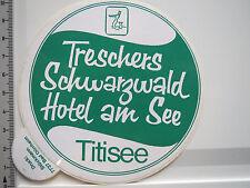 Aufkleber Sticker Titisee - Schwarzwald - Trescher - Hotel (5115)