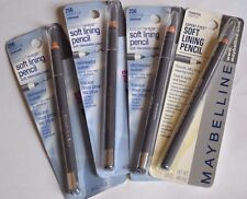 Lot of 4 Maybelline ExpertWear Soft Lining Pencil Eyeliner Charcoal Grey 256