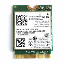 DELL INTEL 7260NGW NB WLAN Wireless-N 7260 WIFI NGFF Module Card 867M MX87X