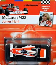 MCLAREN M23 JAMES HUNT #11 1:43 Scale F1 Racing Metal Die Cast Model Formula One