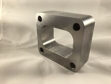 T4 Billet 1.5 inch Undivided Spacer Turbo Flange S400 Smooth Flow  US MADE
