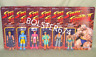 "Street Fighter II Champion Set Super7 3.75"" Figure RYU CHUN-LI KEN BLANKA BISON"