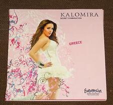 Eurovision Song Contest 2008 Greece Kalomira Secret Combination presspack CD DVD