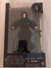 "Hasbro (B0507AS0) Star Wars The Black Series Emperor Palpatine 6"" Action Figure"