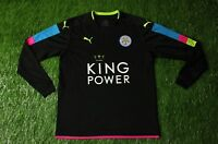 LEICESTER CITY 2016/2017 FOOTBALL SHIRT JERSEY GOALKEEPER GK PUMA ORIGINAL YOUNG