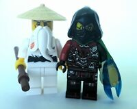 ACRONIX boss Krux & SENSEI-WU NINJAGO SONS  MINIFIGURA TOP MOVIE DIORAMAS PHOTOS