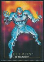 1992 Marvel Masterpieces Trading Card #98 Ultron