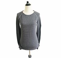 Gap Fit Long-sleeve Athletic Top Grey Size Small