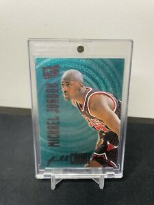 1996 Fleer Ultra Michael Jordan Full Court Trap #1 HOT Inc. Mag Case