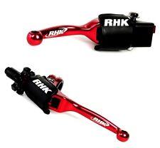 Kawasaki KX125 2000 2001 2002 2003 Red Flex Brake Clutch Lever RHK FL20-R FL30-R