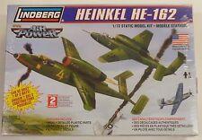 Lindberg 1/72 Heinkel HE-162 Model Kit 70520 New