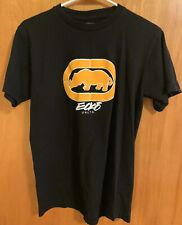 Ecko Unltd Black Men's M T Shirt. Yellow Rhino Logo.