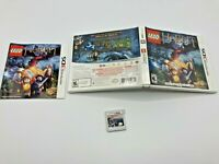 Nintendo 3DS Tested Complete CIB LEGO The Hobbit Ships Fast Authentic