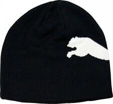Puma Kids Junior Beanie Hat Big Cat Black/White