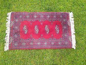 Vintage Afghan Wool Rug Runner