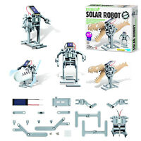 Great Gizmos Kidz Labs Solar Robot Kids Science Experiment School Project Kit