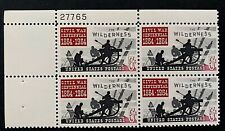 US Stamps, Scott #1181 1964 Battle of the Wilderness 5c Plate Block XF M/NH