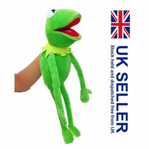 Eden Full Body Kermit The Frog Hand Puppet Memes Plush Toy Kids Christmas Gift K