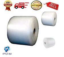 """Bubble + Wrap 1/2"""" 500 ft. x 12 Large Padding Perforated Shipping Moving Roll US"""