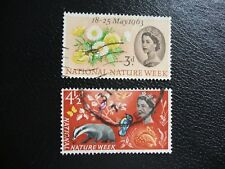 SG637-638 1963 National Nature Week. Used Set of Stamps.