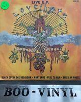 """LOVE HATE Live EP 7"""" VINYL UK Cbs 1990 4 Track Kerrang Promo Ex Con"""