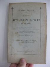 1899 Voyage Afrique du nord Nouveau Petit journal d'Afrique Léon Gauthey Autun