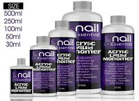 NAIL SCULPTING ACRYLIC LIQUID MONOMER SALON HIGH QUALITY