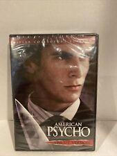 American Psycho (Uncut Version) Killer Collector's Edition Dvd, New