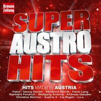 SUPER AUSTRO HITS - FALCO/ANDREA GABALIER/WOLFGANG AMBROS/+  2 CD NEU