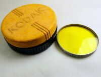 Kodak Wratten Yellow K2  Filter lens series VI 6 drop in 41.5mm