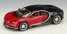 Bburago 1:24 Bugatti Chiron Diecast Metal Model Car Vehicle Red New in Box