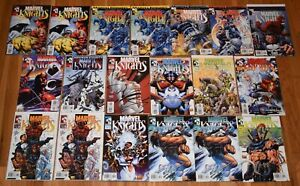 Lot of 19 Marvel Knights Comics Volume 1 #1-15  Daredevil, Punisher, Black Widow