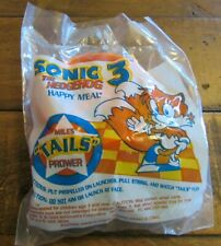 1993 Sega Sonic The Hedgehog McDonalds Happy Meal Toy - Miles Tails